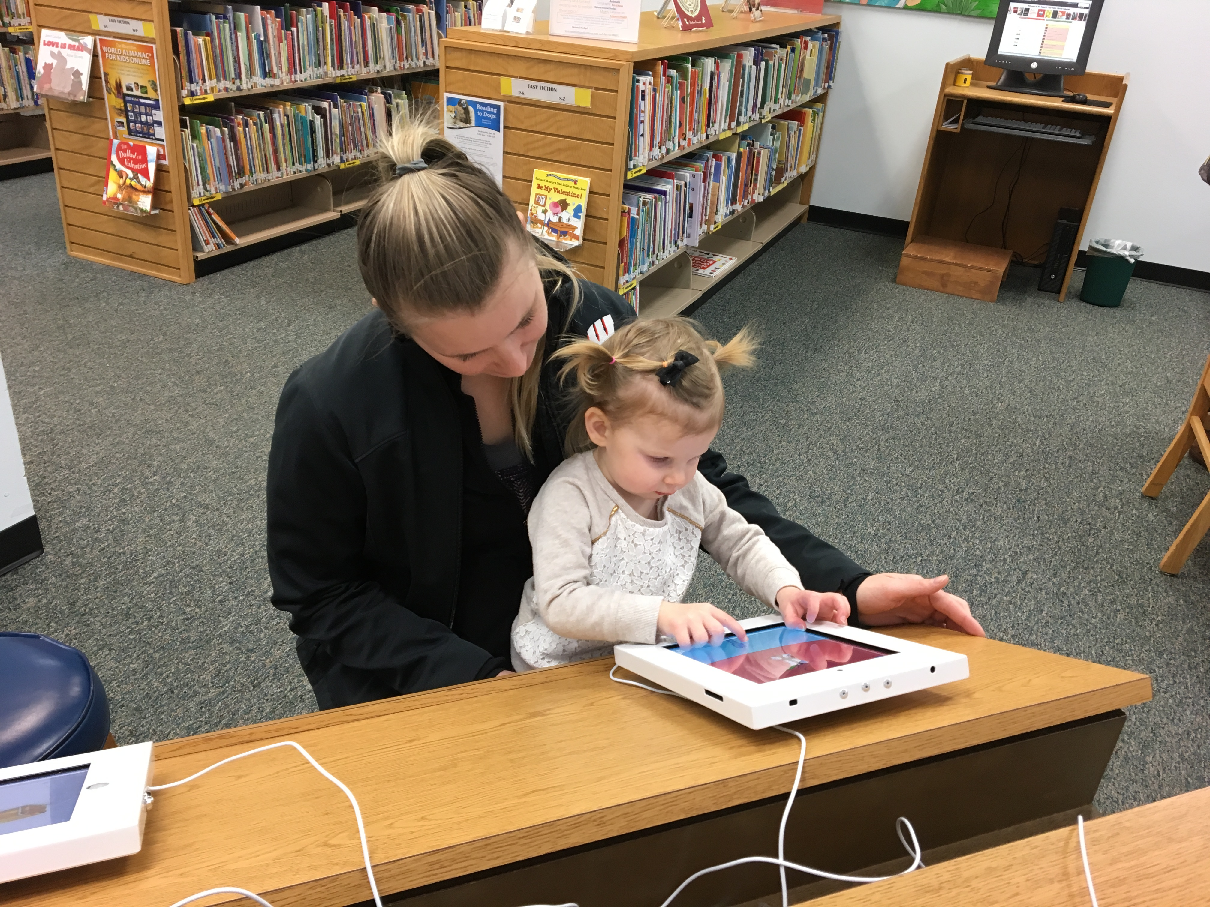 Technology Grant Brings iPads for Children to Yukon Library