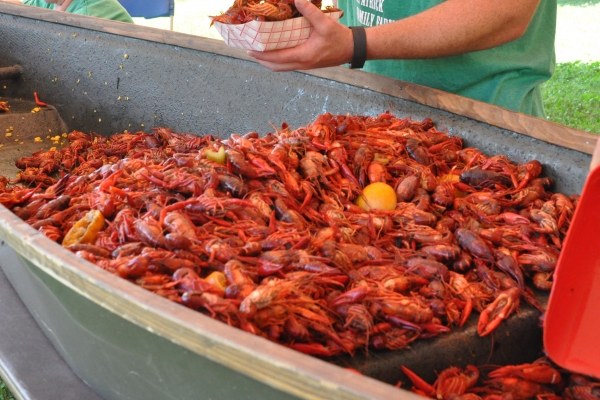 Chisholm Trail and Crawfish Festival