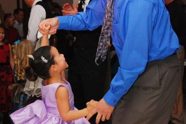 Daddy Daughter Dance (times vary by age)