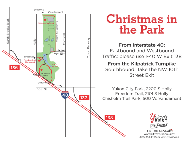 Christmas in the Park | City of Yukon
