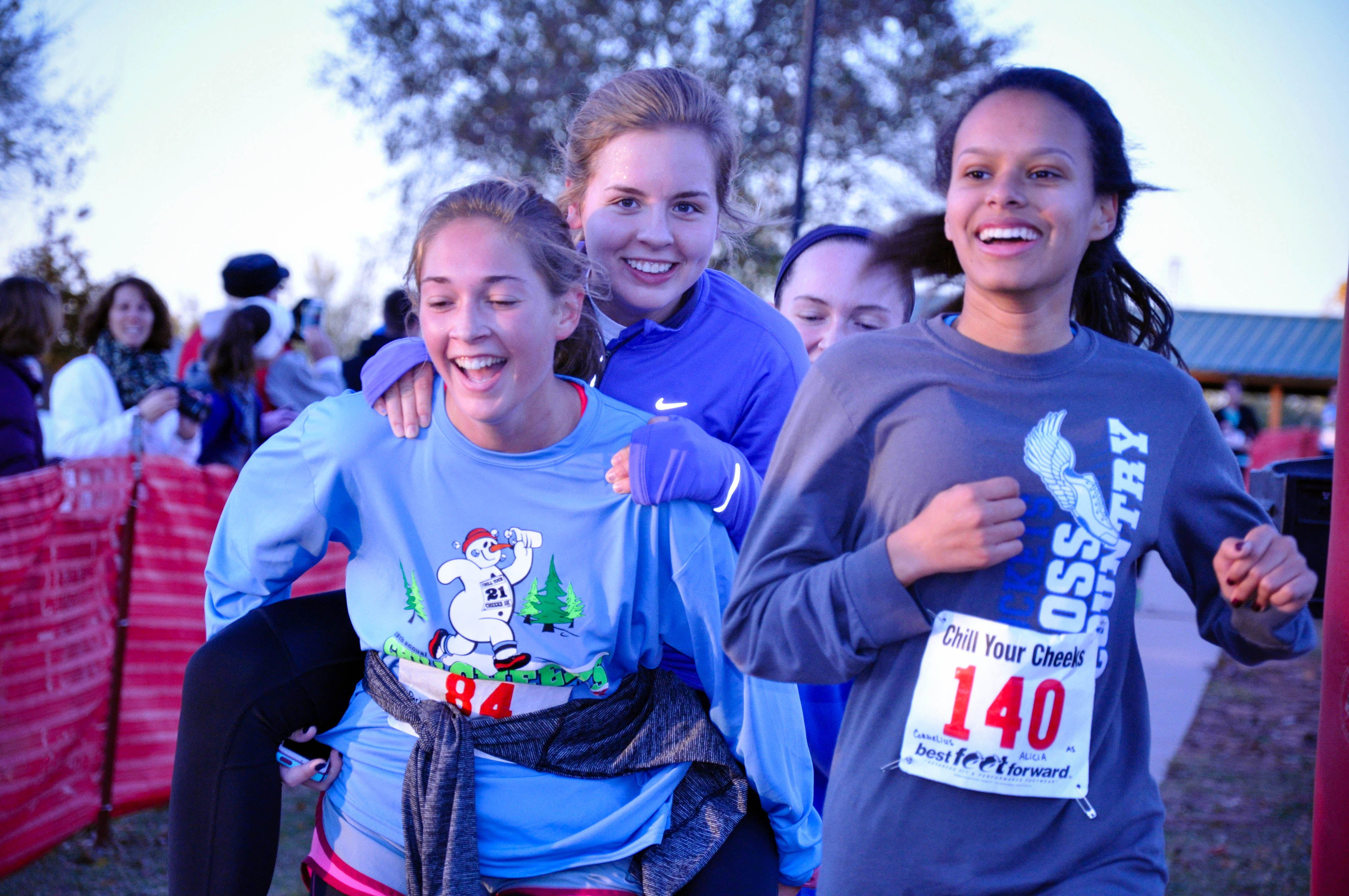 Chill Your Cheeks 5K Registration Attracts Runners from All Over Oklahoma