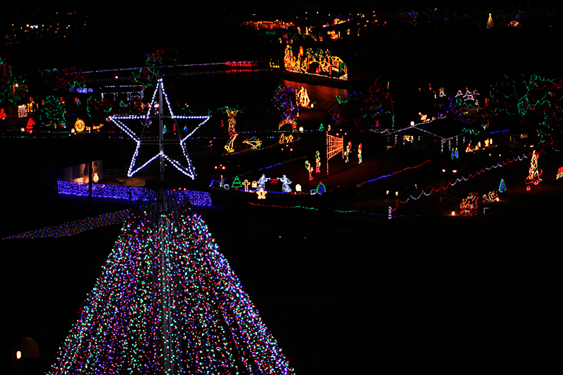 Yukon Ok Christmas Lights.City Of Yukon