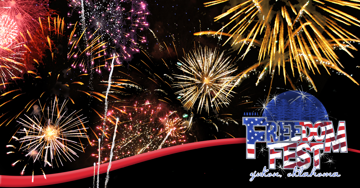 2 Nights of Fireworks and FREE Family Fun at Yukon's Freedom Fest