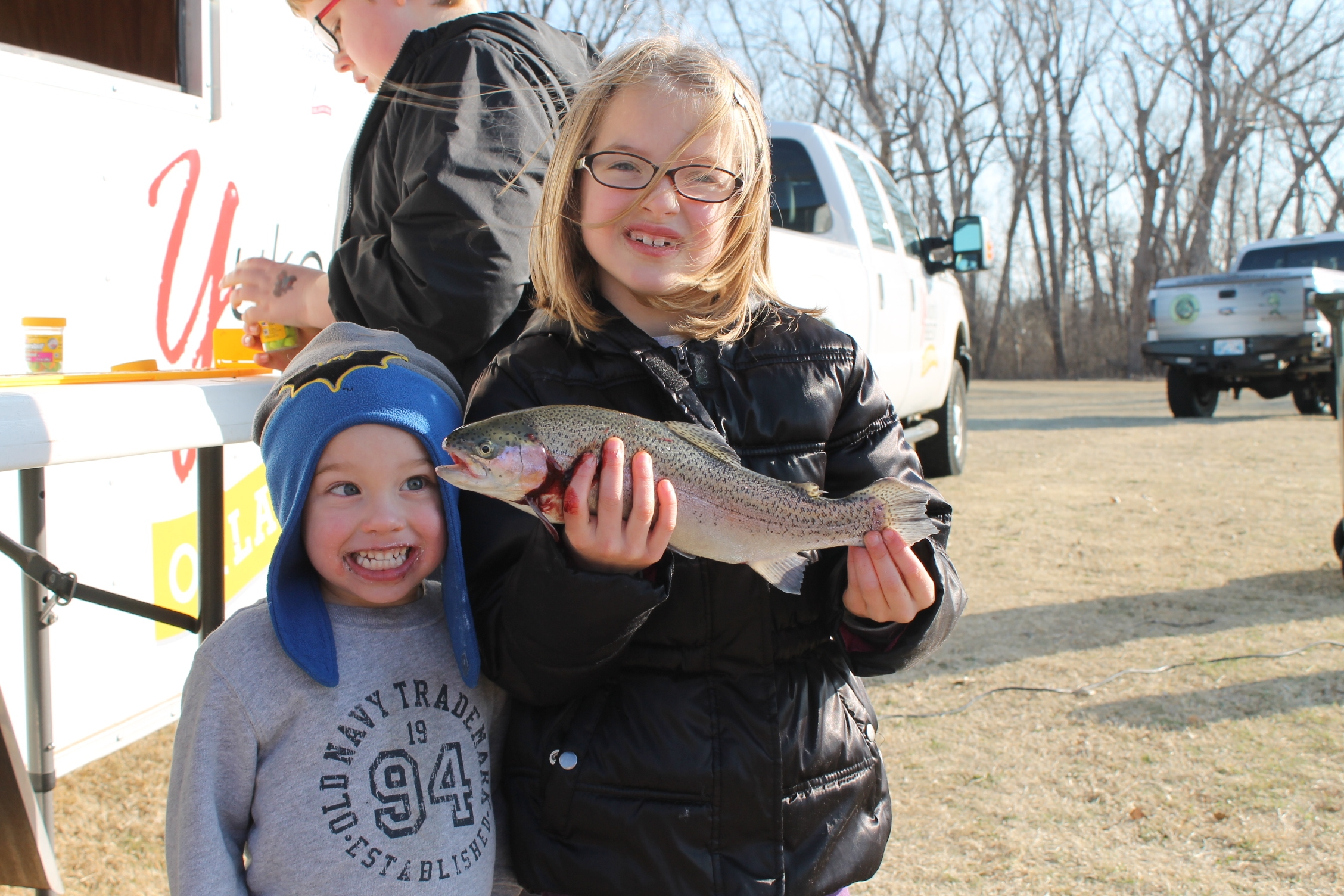 Kid's Trout Fish Out