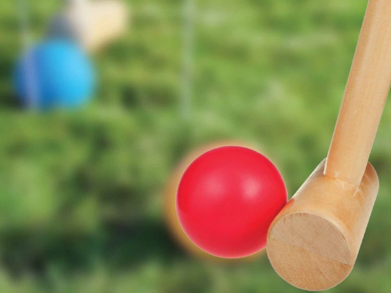 """Friday Fun Day - Croquet Day at the """"Coop"""""""