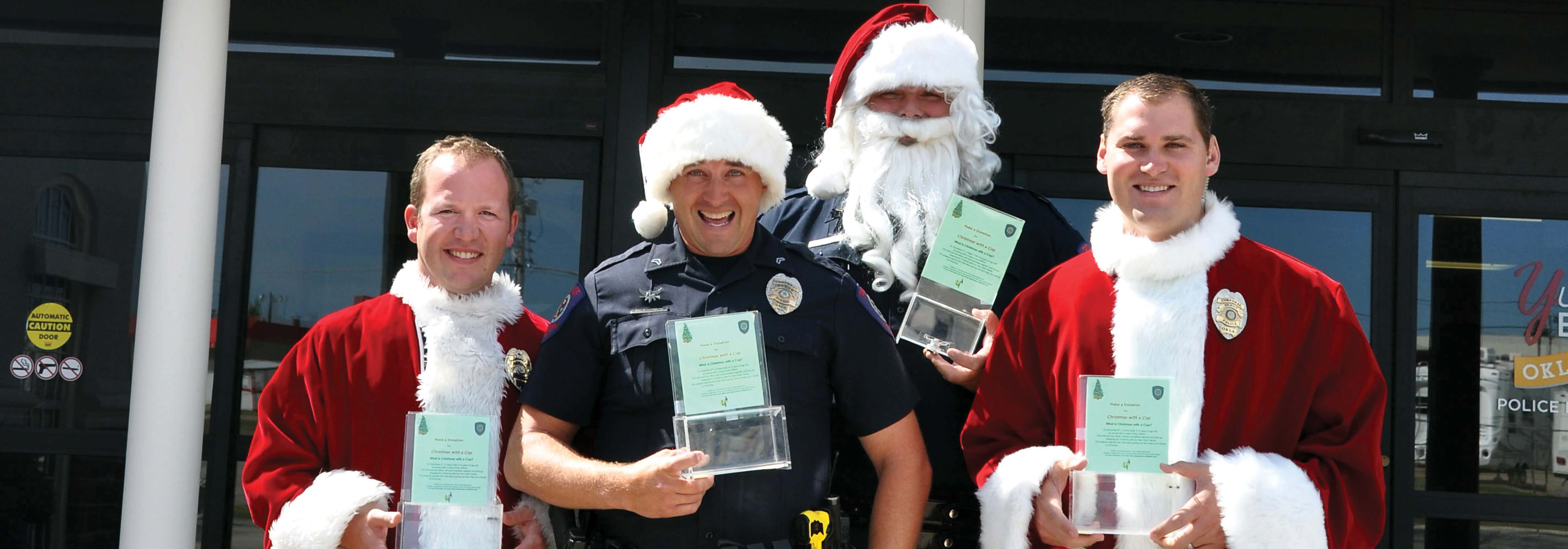 "Yukon Police Department Spreads Christmas Cheer with ""Christmas with a Cop"""