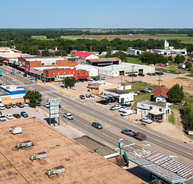 Yukon's Best Main Street; Photo courtesy of Austin Urton of Baker Photo-Video